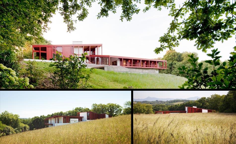 Mathieu choiselat mc design biarritz architecture for Maison individuelle architecte